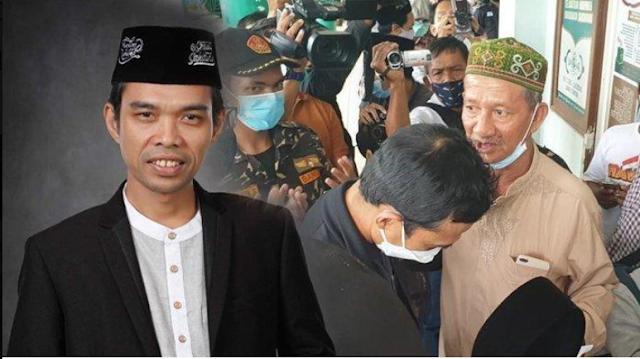 Permalink to TIBA-TIBA Ustaz Abdul Somad Buka Peci, Minta Kiai Sepuh NU Jatim Tiup Ubun-ubunnya, Terungkap Maunya