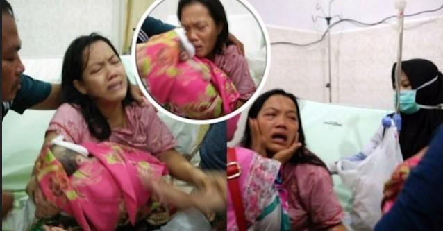 Peringatan Bagi Ibu yang Ketergantungan Pampers Untuk Anak, Nyawa Anak ini Diambang Batas