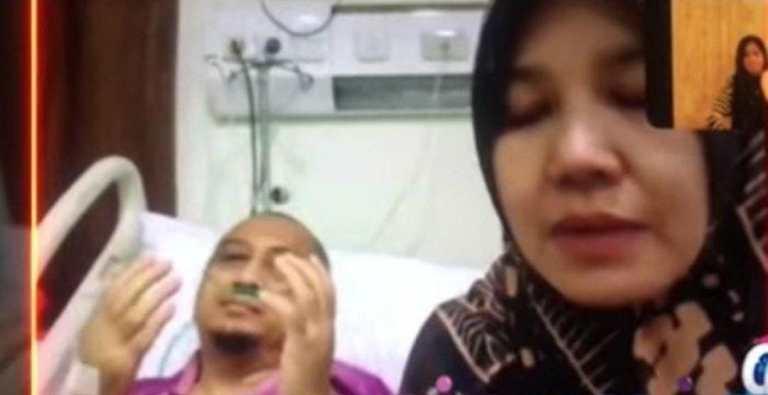 Sambil nangis, istri ungkap kondisi Yusuf Mansur: Kata dokter, dia harus segera…